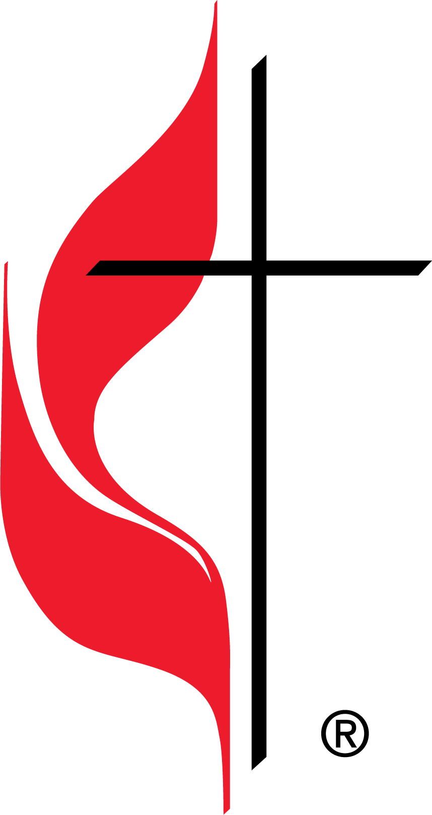Cross and Flame - United Methodist Church